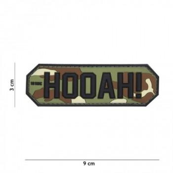 PARCHE PVC HOOAH! WOODLAND