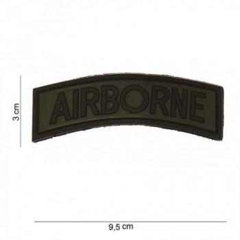 PARCHE PVC TIRA AIRBORNE VERDE