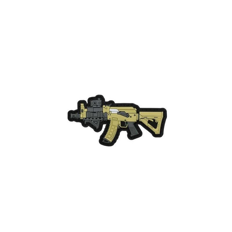 PARCHE PVC AK47 SPETNAZ BEIGE