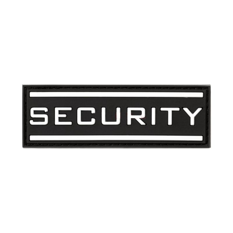 PARCHE SECURITY NEGRO