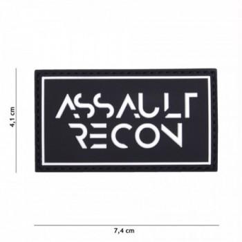 PARCHE PVC ASSAULT RECON  NEGRO