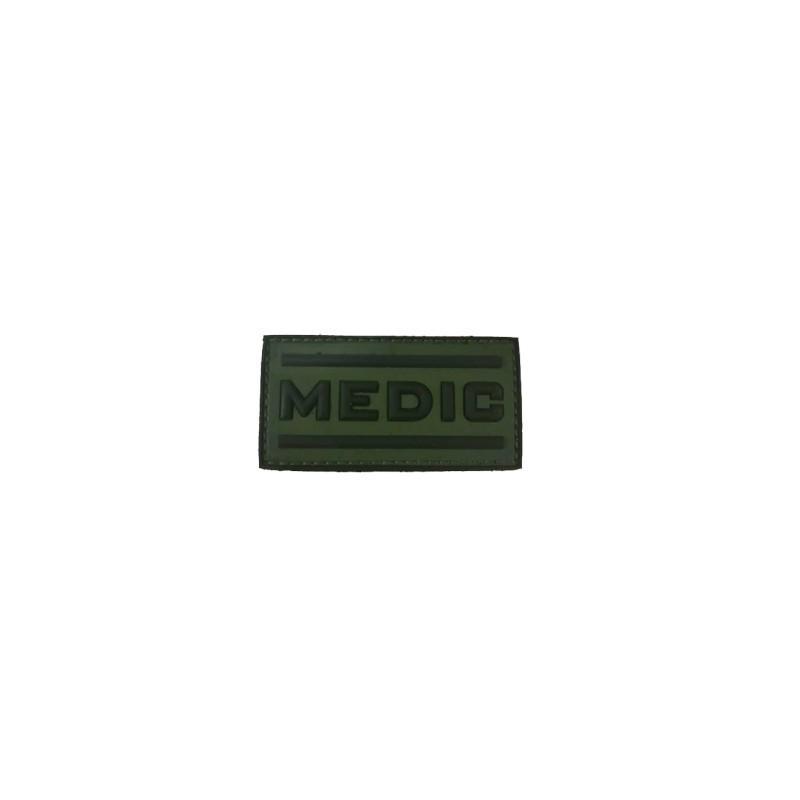 PARCHE PVC 3D MEDIC VERDE